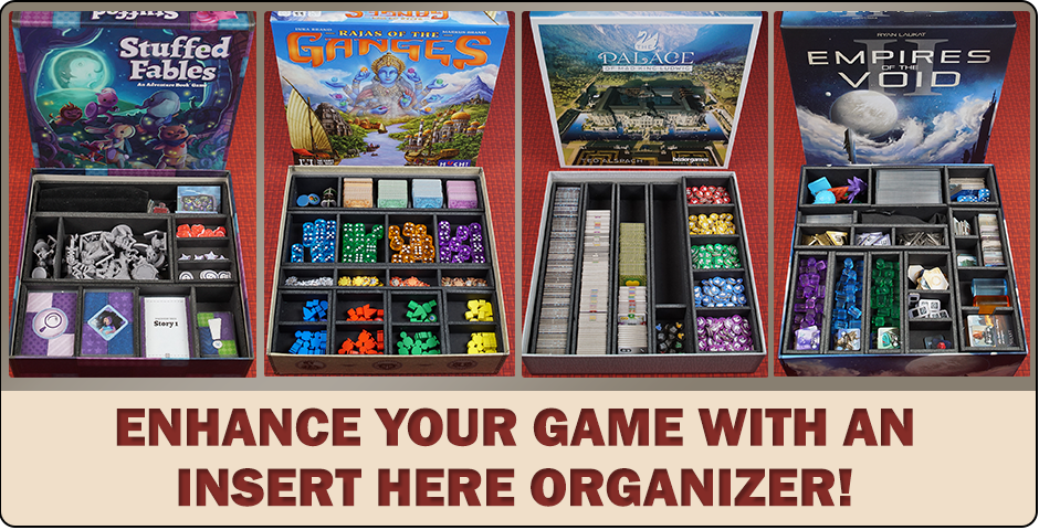 Board Game Organizers, Inserts