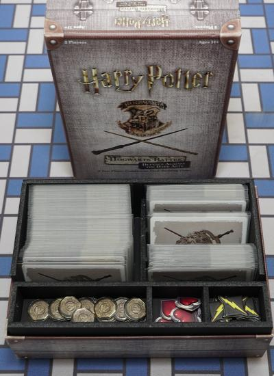 Board Games, Board Game Insert, Board Game Organizer, Foam Board Organizer, Foam Board Insert, Harry Potter: Hogwarts Battle – Defence Against the Dark Arts