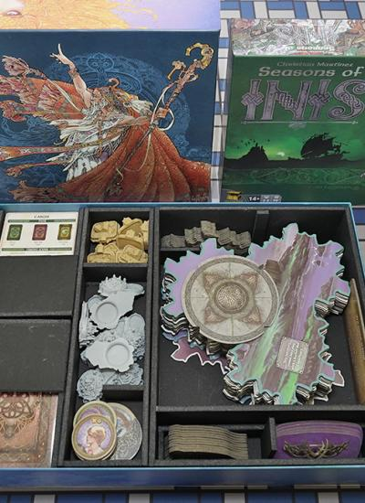 Board Games, Board Game Insert, Board Game Organizer, Foam Board Organizer, Foam Board Insert, Inis