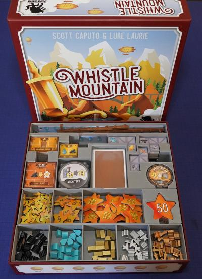 Board Game Insert for Whistle Mountain
