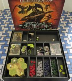 Board Game Insert, Board Game Organizer, Foam Board Organizer, Foam Board Insert, Mage Knight Ultimate Edition
