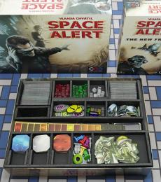 Board Game Insert, Board Game Organizer, Foam Board Organizer, Foam Board Insert, Space Alert